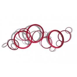 Tableau sculpture Cercles