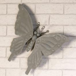 Papillon, Métal gris