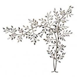 Tableau sculpture Branche, Acier inoxydable