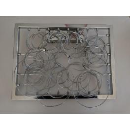 Applique Design fils aluminium