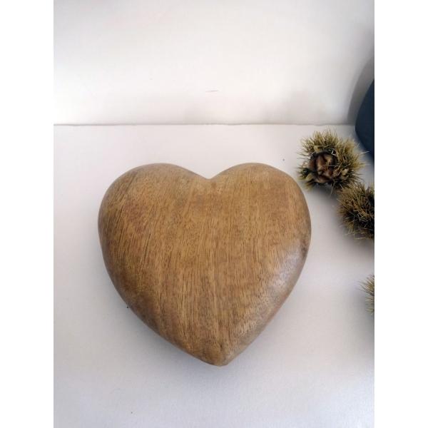 Coeur bois arqitecture espace feng shui objets de for Decoration a petit prix