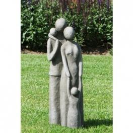 Famille sculpture, béton