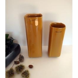Vase moutarde, Céramique