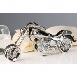 Moto Harley-Davidson miniature, Résine