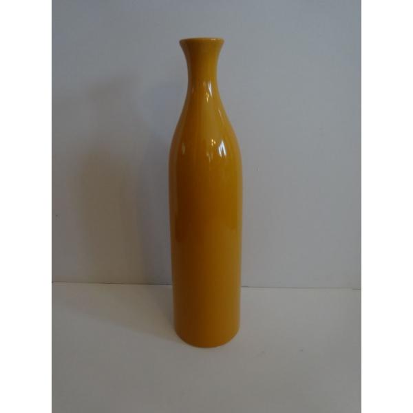 arqitecture bois c ramique vase bouteille orange d coration feng shui maison. Black Bedroom Furniture Sets. Home Design Ideas