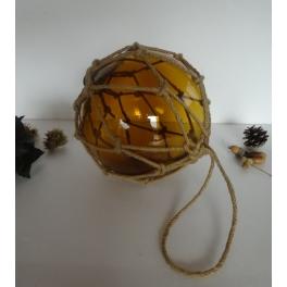 Flotteur pêche ambre