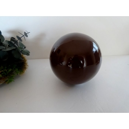 Boule marron, Céramique