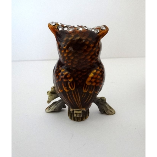 Arqitecture animaux hibou bo te d coration feng for Decoration maison feng shui