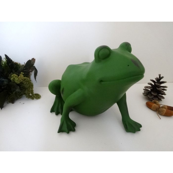 Arqitecture animaux grenouille grosse d coration for Decoration jardin grenouille