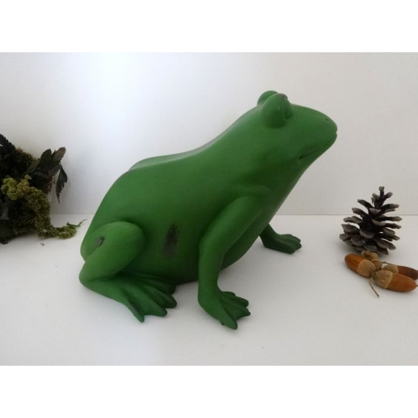 Arqitecture animaux grenouille grosse d coration for Grenouille jardin deco