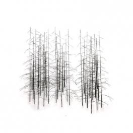 Tableau sculpture La Forêt, Acier inoxydable