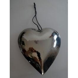Coeur à accrocher, Metal martelé