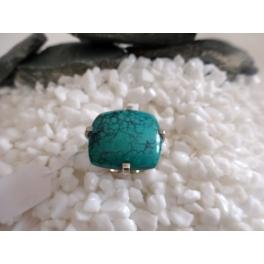 Bague Turquoise, Argent