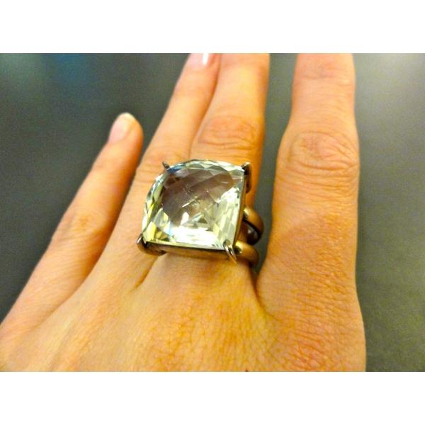 arqitecture terre bijoux bague quartz vert carr d coration maison beaut main. Black Bedroom Furniture Sets. Home Design Ideas