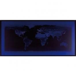 Tableau lumineux Monde