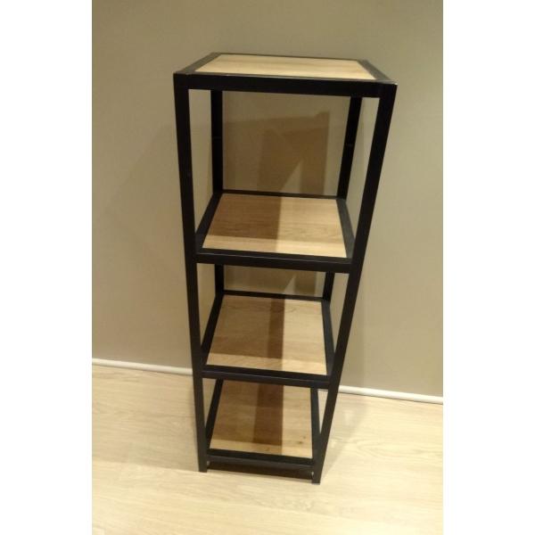 etagere bois metal 200×200