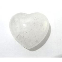 Coeur, Quartz blanc