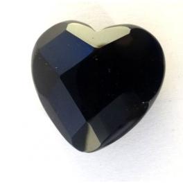 Coeur en Onyx pour bracelet