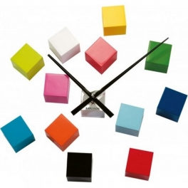 Horloge Cube color DIY