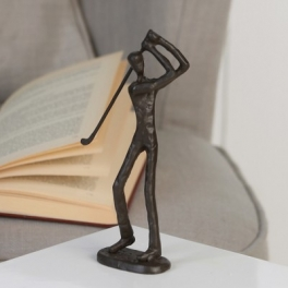Sculpture Golfeur, Fer