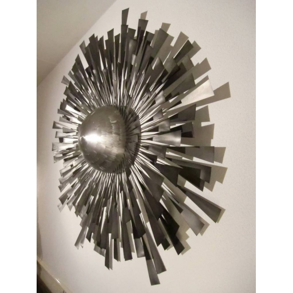 arqitecture feu m tal soleil tableau sculpture. Black Bedroom Furniture Sets. Home Design Ideas