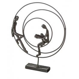 Sculpture Symbiose, Fer