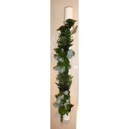 Tube végétal stabilisé