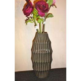 Vase onde, Céramique grise