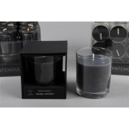 Bougie parfumée PATCHOULI en verre