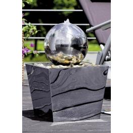Fontaine boule inox