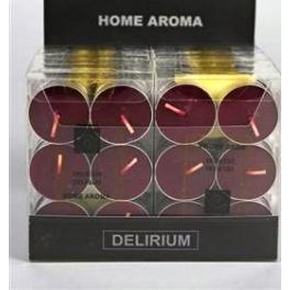 set de 6 bougies chauffe-plat DELIRIUM