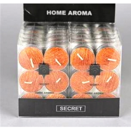 set de 6 bougies chauffe-plat SECRET