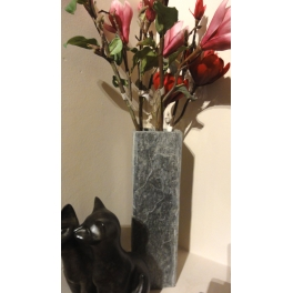 Vase carré, Ardoise