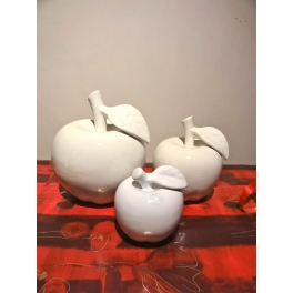 Pomme, Céramique blanche