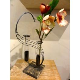 Vase soliflor Clef de sol