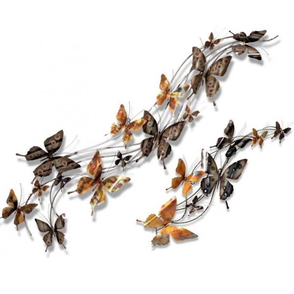 tableau sculpture papillons arqitecture espace feng. Black Bedroom Furniture Sets. Home Design Ideas