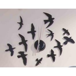 arqitecture animaux oiseaux horloge d coration. Black Bedroom Furniture Sets. Home Design Ideas